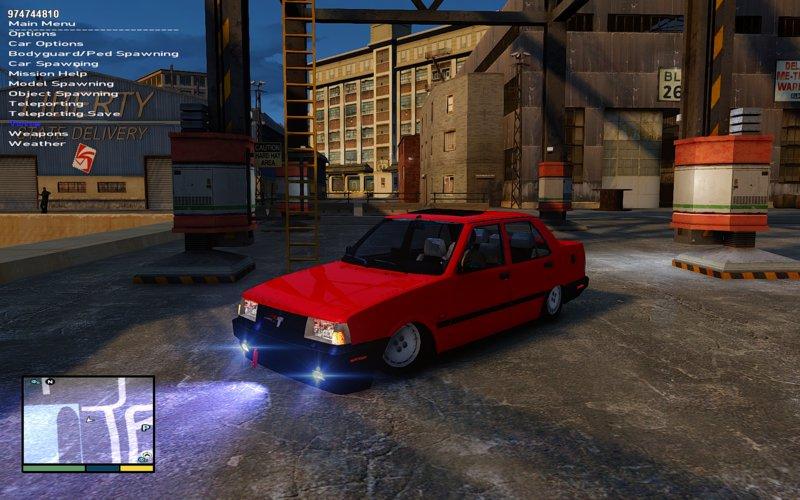 GTA 4 Tofaş ŞAHİN 2001 Mod - GTAinside com