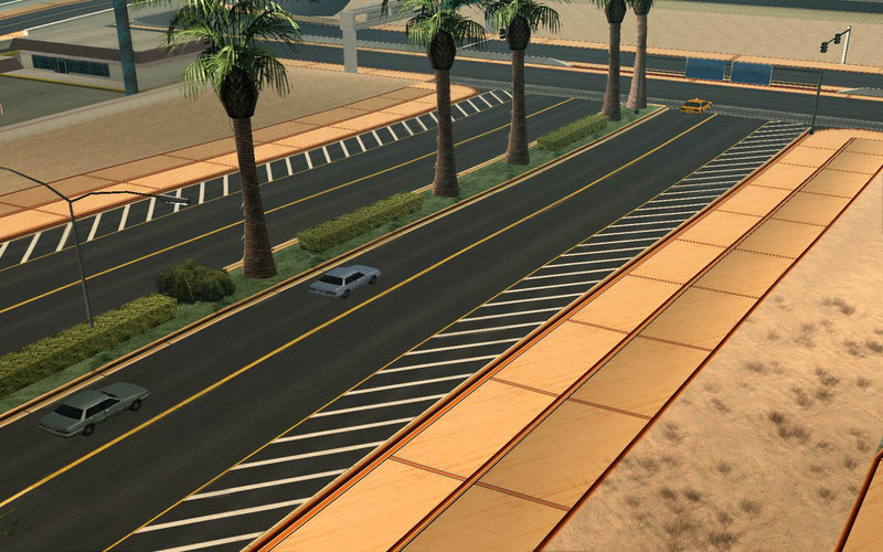 GTA San Andreas HD ALL CITY ROAD Mod - GTAinside com