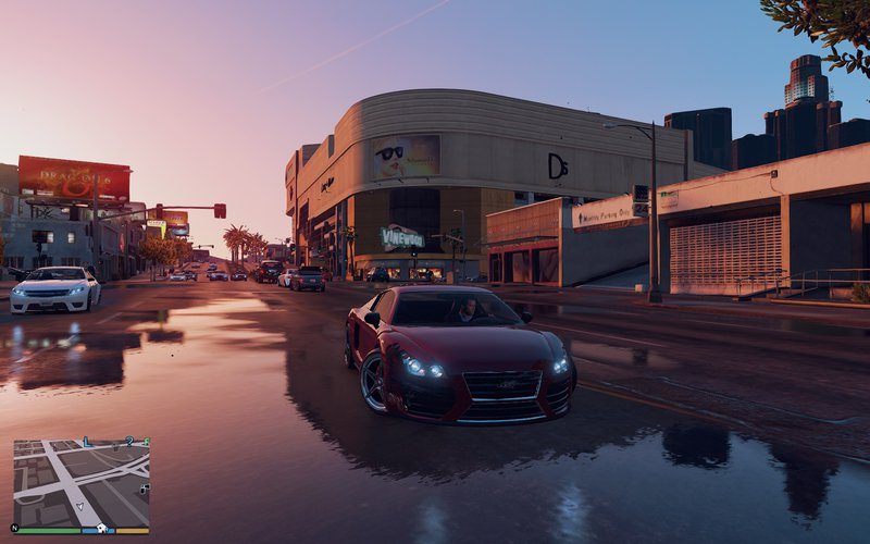 GTA 5 Summer Reshade [Update] 0 7 NEW!!! Mod - GTAinside com