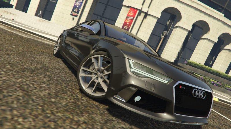 GTA Audi RS Mod GTAinsidecom - Audi car gta 5
