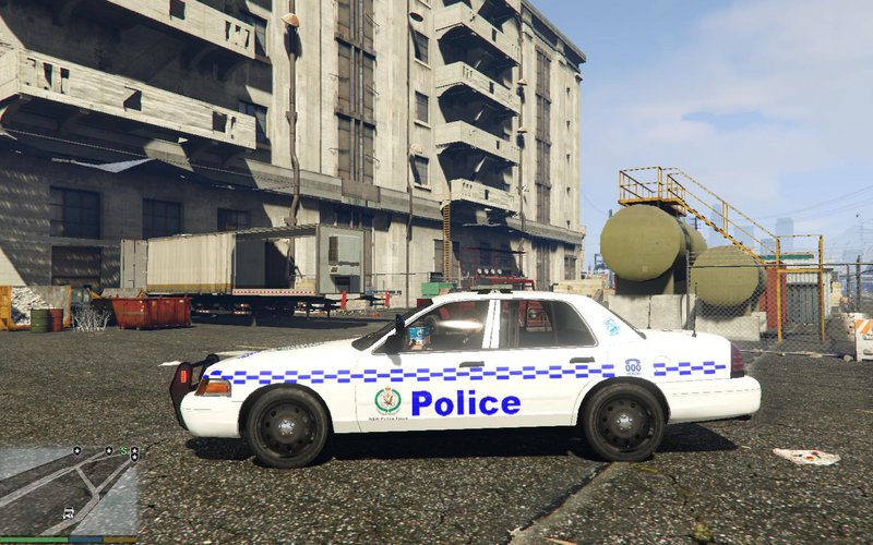 GTA 5 Ford Crown Victoria NSW Police Car Mod - GTAinside com