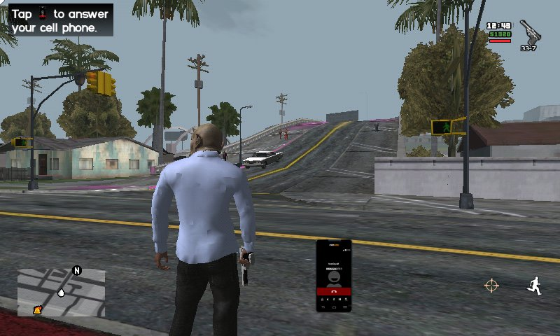 GTA San Andreas VRANIM V Ragdoll Anim for Android ALPHA Mod