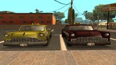 GTA III vehicles converted to San Andreas