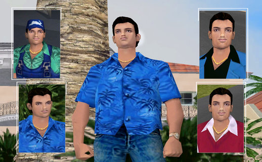 Vice City Tommy Skins Mod (5 Skins)