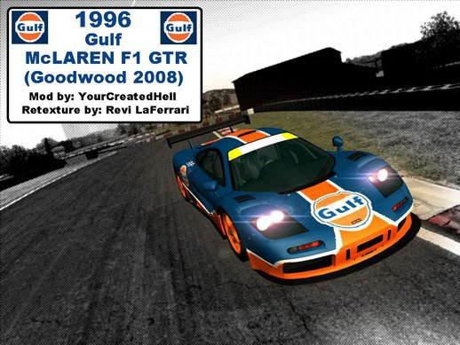 1996 Gulf McLAREN F1 GTR (GoodWood 2008)