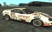 Toyota Supra Kantai Collection Haruna Paint Job