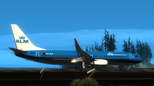KLM Royal Dutch Airlines Boeing 737-800