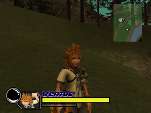 Kingdom Hearts:Birth By Sleep - Ventus (HD Model)