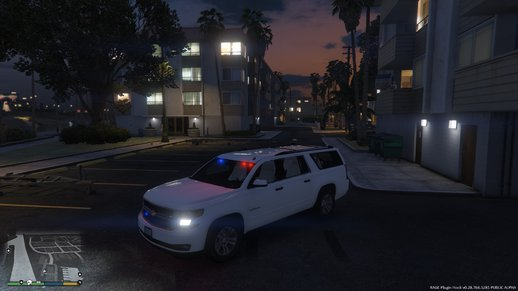 Unmarked Police Suburban