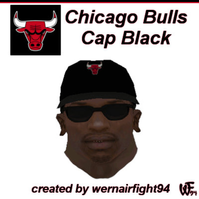 Chicago Bulls Cap Black