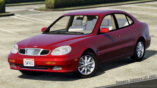 2001 Daewoo Leganza US v1.3 [Add-On + 100 tuning parts!] [official convert]