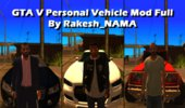 GTA V Personal Vehicle Mod full