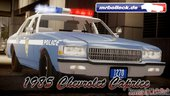 1985 Chevrolet Caprice NYPD Police