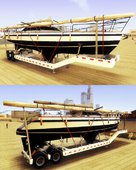 GTA V Big Boat Trailers