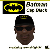 Batman Cap Black