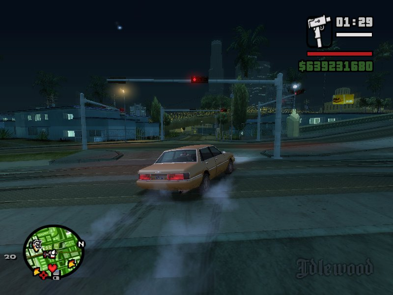 GTA San Andreas New Driving Physics Mod - GTAinside com