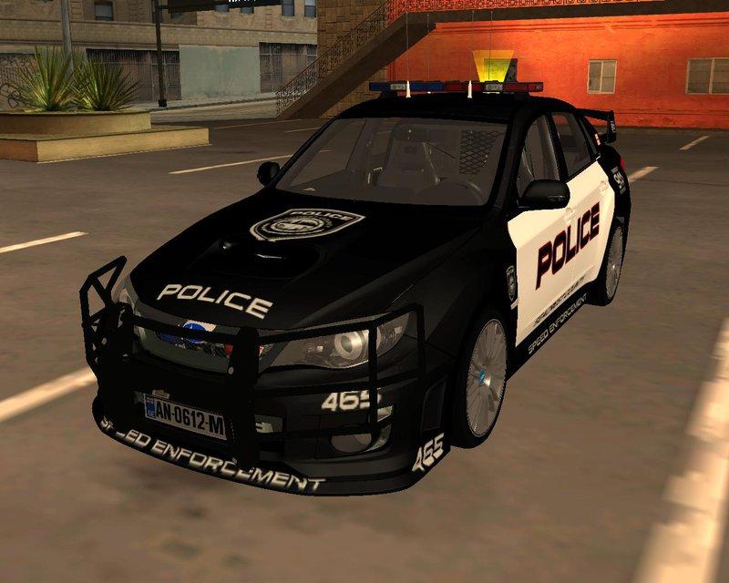 "GTA SA ""Subaru Impreza POLICE"""