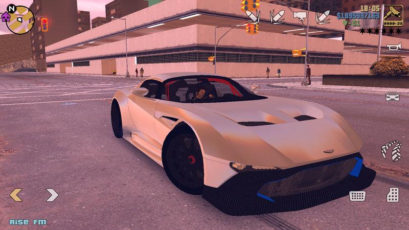 Gta 3 Aston Martin Vulcan Mod Gtainside Com