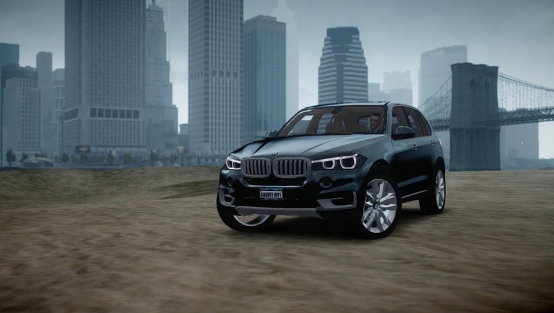 GTA 4 2014 BMW X5 [beta] Mod - GTAinside com