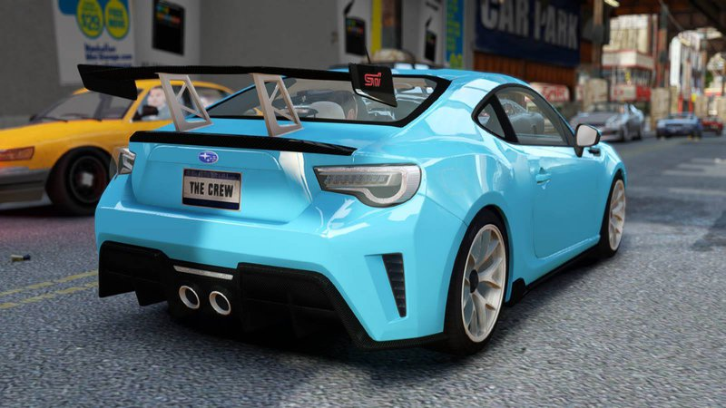 2016 Subaru Brz Sti Concept