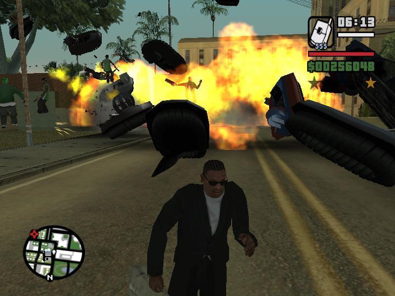 GTA San Andreas Infinite Health Mod - GTAinside com
