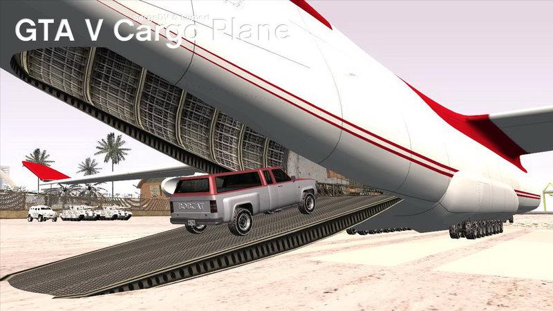 GTA San Andreas GTA V Cargo Plane Mod - GTAinside.com