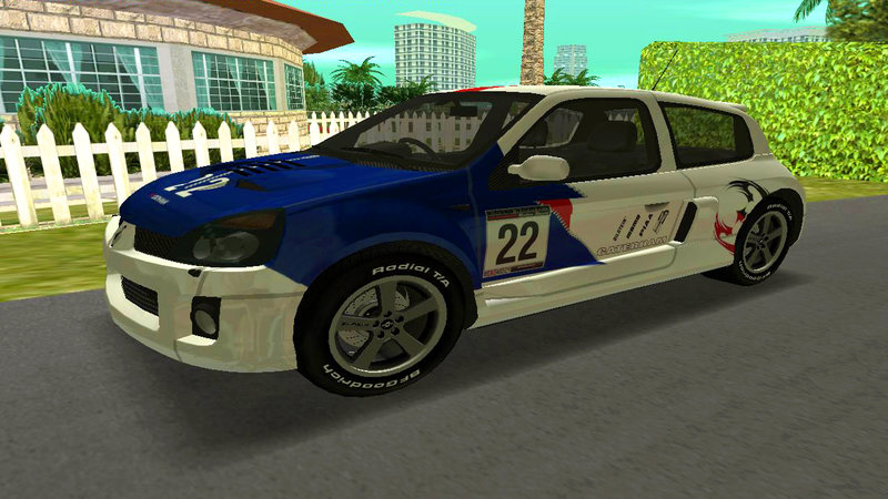gta 3 need for speed most wanted renault clio mod
