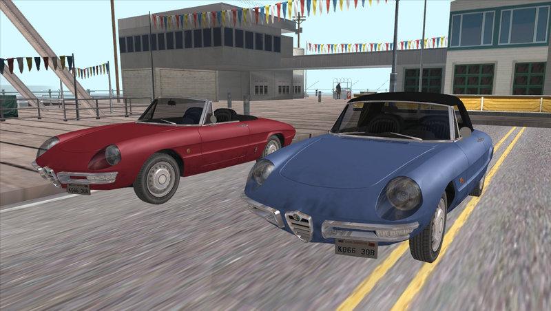 ... 1966 Alfa Romeo Spider Duetto