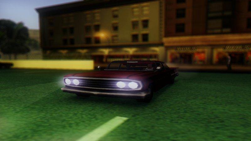 GTA San Andreas GTA Vice City cars for San Andreas Mod