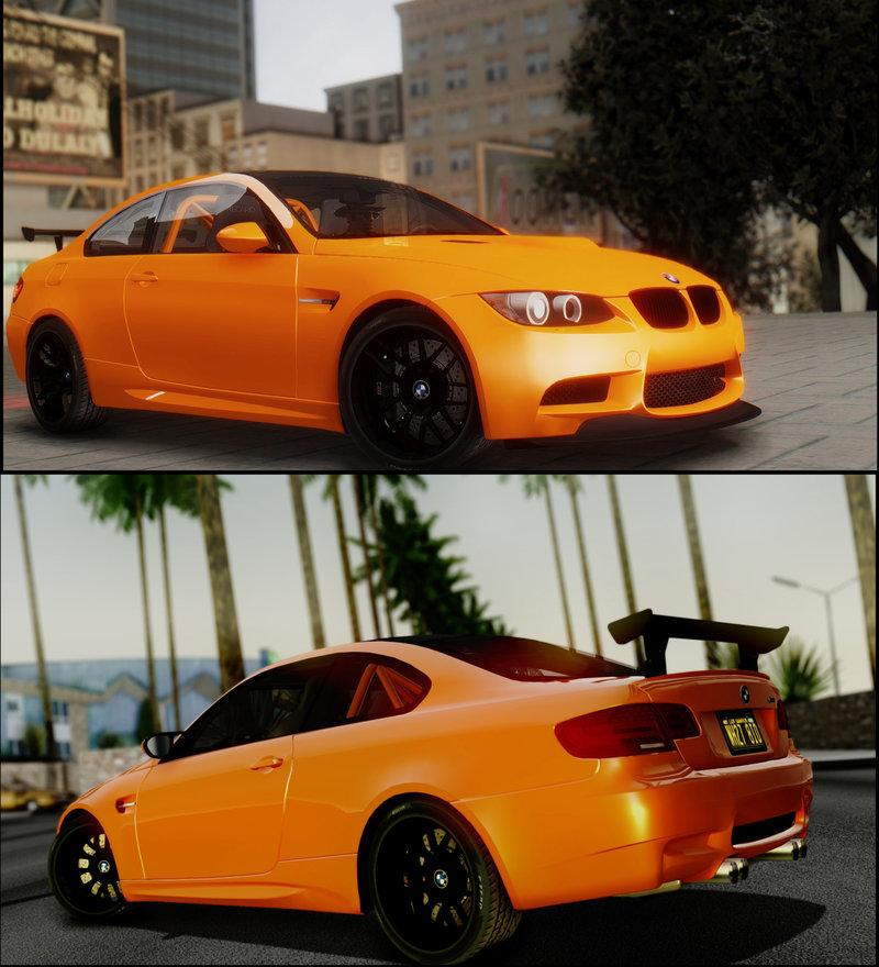 GTA San Andreas 2011 BMW M3 GTS Mod - GTAinside.com