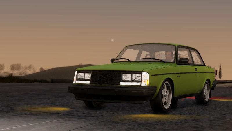 Gta San Andreas 1983 Volvo Turbo 242 Evolution Turbo Mod