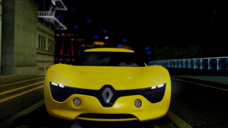 Gta San Andreas 2010 Renault Dezir Concept V1 0 Mod