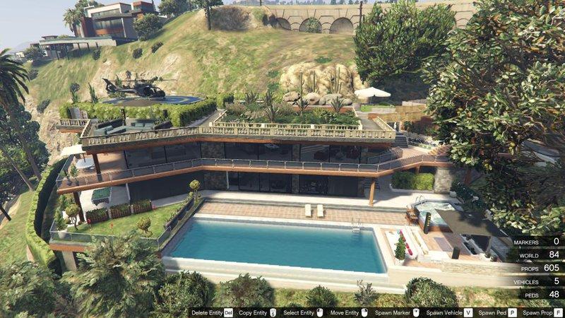 GTA 5 Franklin's Luxury House Mod - GTAinside com