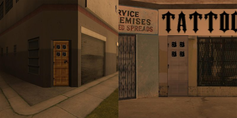 Minecraft Doors & GTA San Andreas Minecraft Doors Mod - GTAinside.com