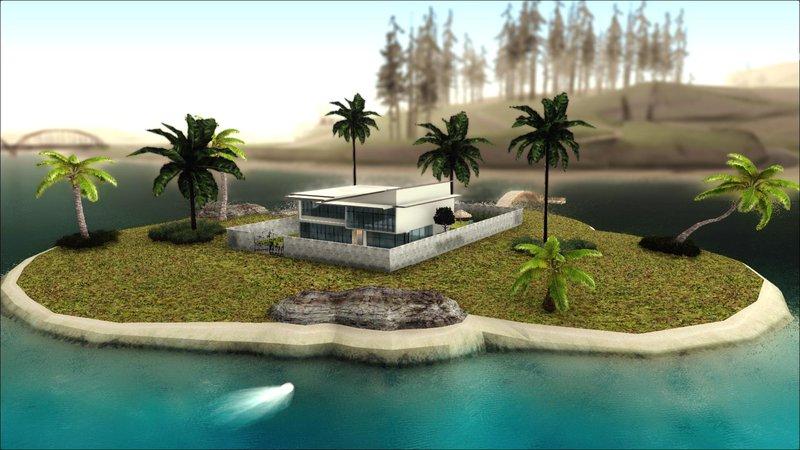 GTA San Andreas Diegoforfuns Modern House Mod Mod GTAinsidecom