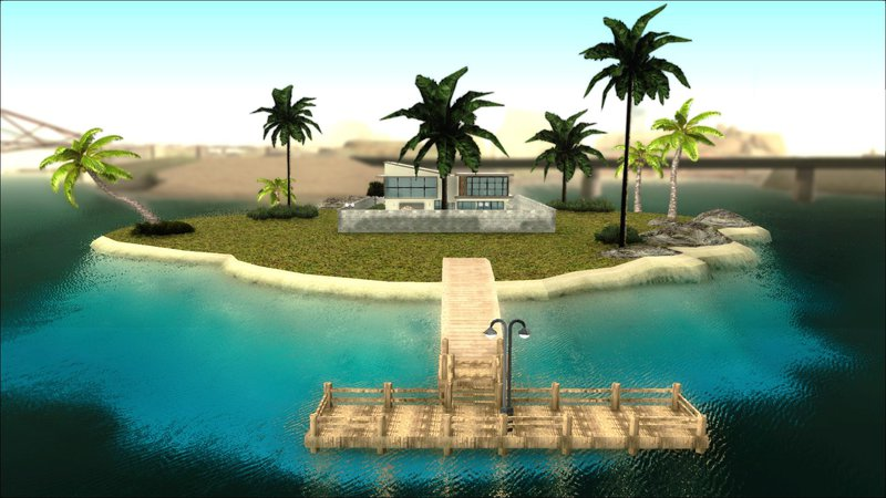 GTA San Andreas Diegoforfun's Modern House Mod Mod