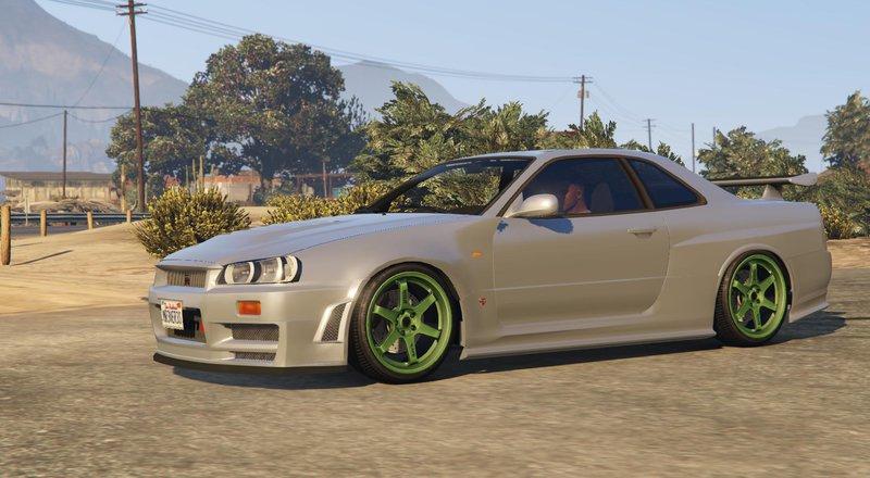 Gta 5 1999 Nissan Skyline Gt R R34 Mod Gtainside Com