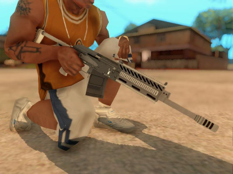 GTA San Andreas GTA V Heavy Shotgun V2 - Misterix 4 Weapons