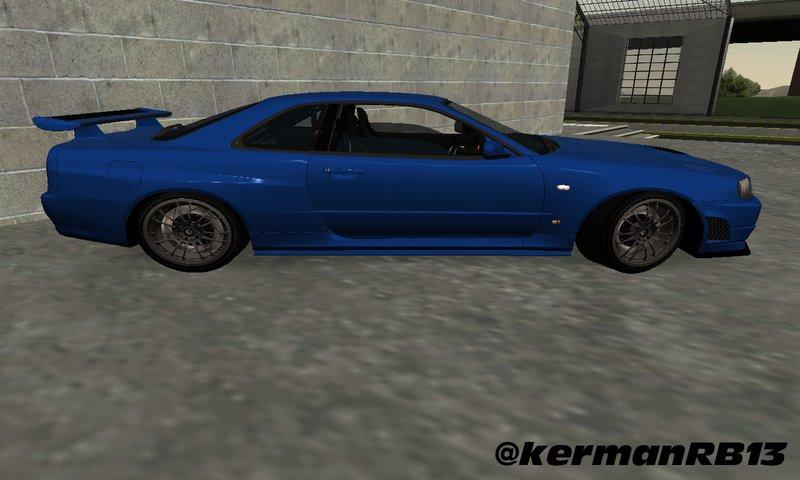 Gta San Andreas 2002 Nissan Skyline Gt R R34 Fast And Furious 4