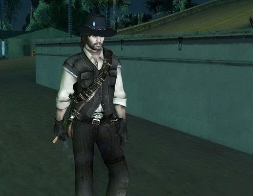 John Marston from Red Dead Redemtion