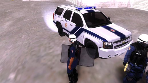 Bahrain Riot Police Tahoe Textures Pack