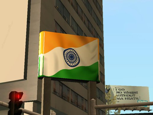 Indian Map & Flag
