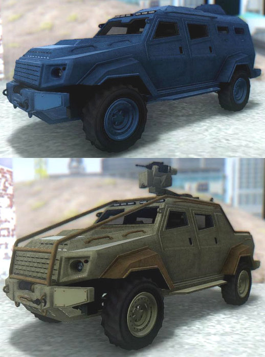 GTA V HVY Insurgent & Pick-up v2
