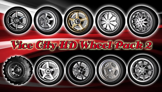 Vice City HD Wheel Pack 2