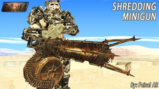 Shredding Minigun (Fallout 4)