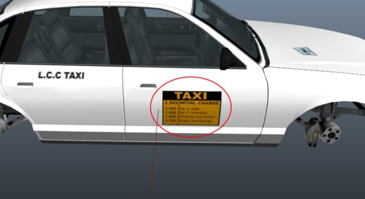 New License Plates And New Taxi Textures .