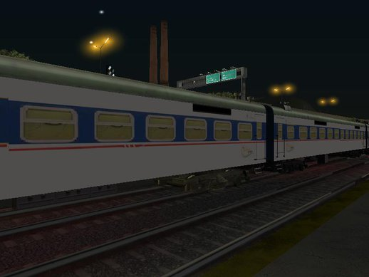 Pakistan Railway Business Train