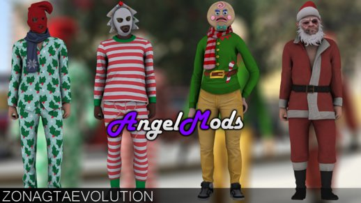 GTA Online Skins Pack (Festive Surprise 2015)