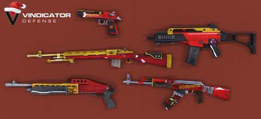 Xmas Weapon Pack by VindiCaToR