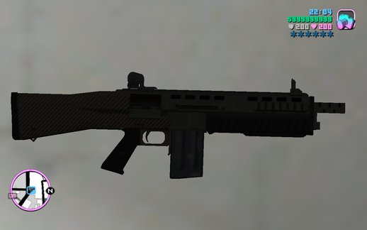 GTA V Assault Shotgun